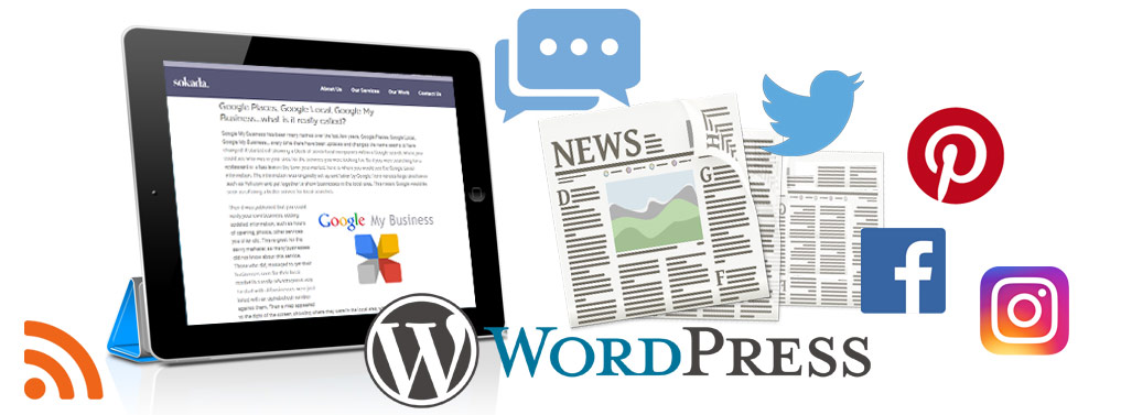 Blogging & Social Media for Your Website - Sokada Ltd